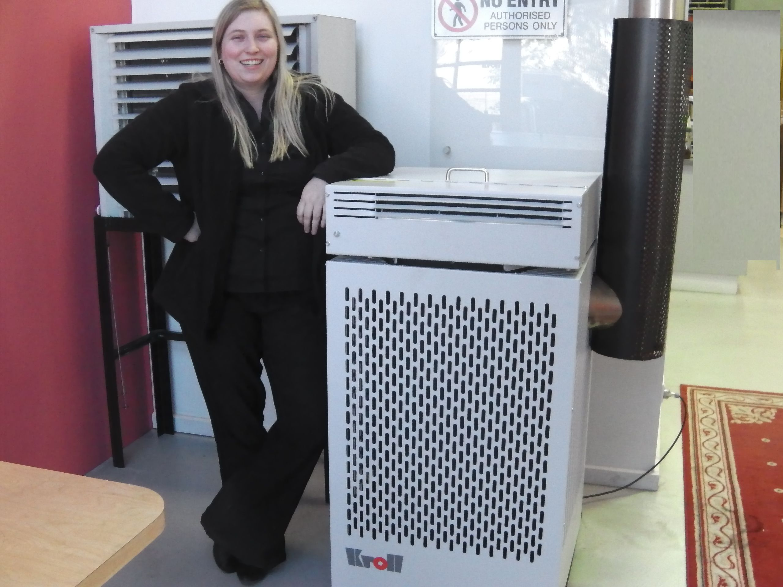 Waste Oil Heaters Are Kroll Core Business